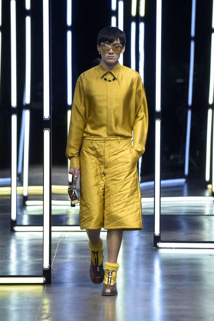 fendi, fendi men's, fendi shoes, fall 2021 men's, fendi fall 2021 men's, menswear, men's trends
