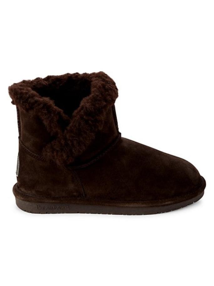 Bearpaw Heidi II Faux Fur & Suede Boots