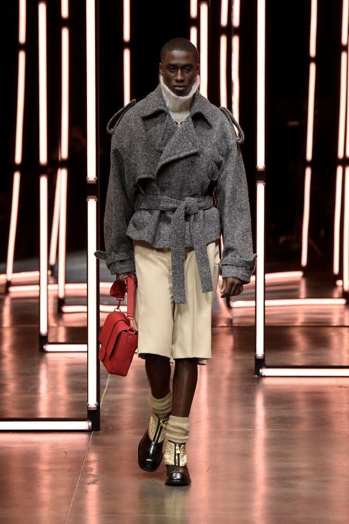 fendi, fendi fall 2021, fall 2021 menswear, fendi men's, fendi shoes, 2021 fashion, menswear