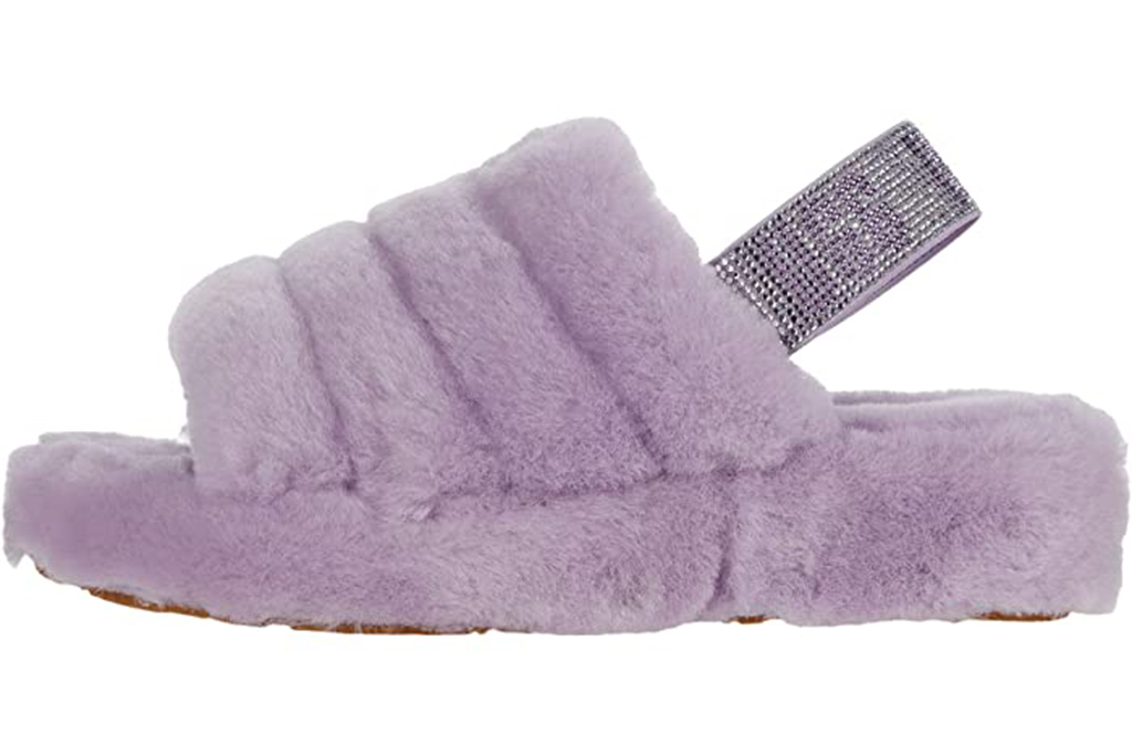 ugg fluff yeah slippers, purple uggs, violet uggs
