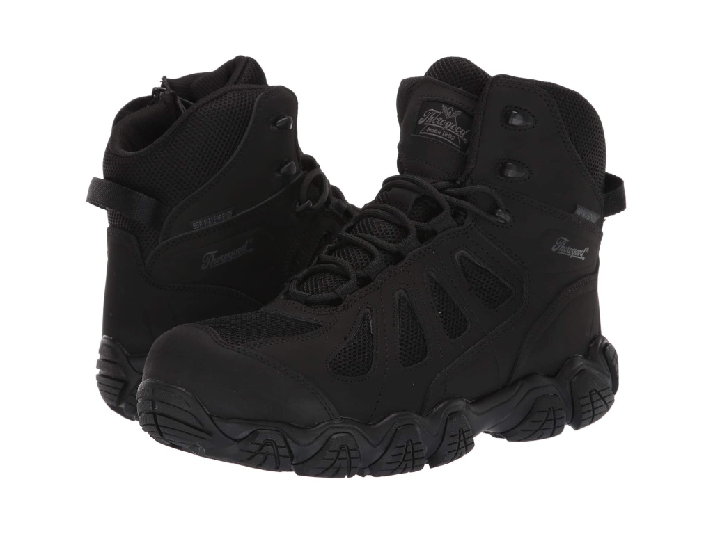 """Thorogood 6"""" Crosstrex Side Zip Waterproof Comp Toe, men's work boots"""