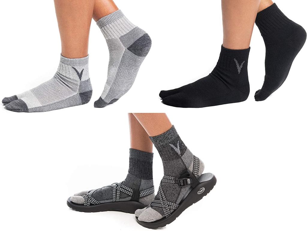 V-Toe Tabi Socks