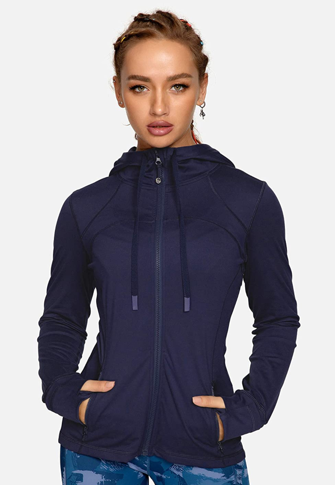Queenieke Hooded Workout Jacket