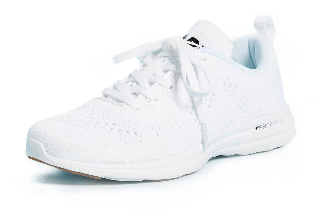 white sneakers, running shoes, apl