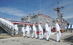 The last crew of the USS