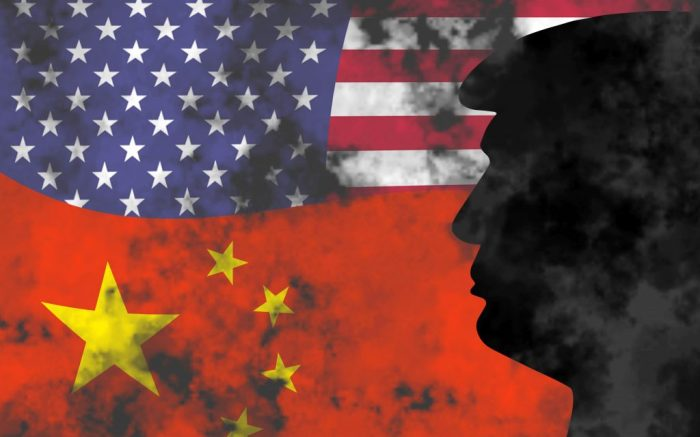 Symbolic photo montage: China vs. USA | usage worldwide Photo by: Dwi Anoraganingrum/Geisler-Fotop/picture-alliance/dpa/AP Images
