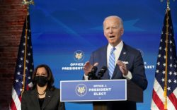 President-elect Joe Biden speaks about the