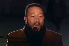 John Legend Covers Nina Simone in a Chic Look for 'Celebrating America' Performance