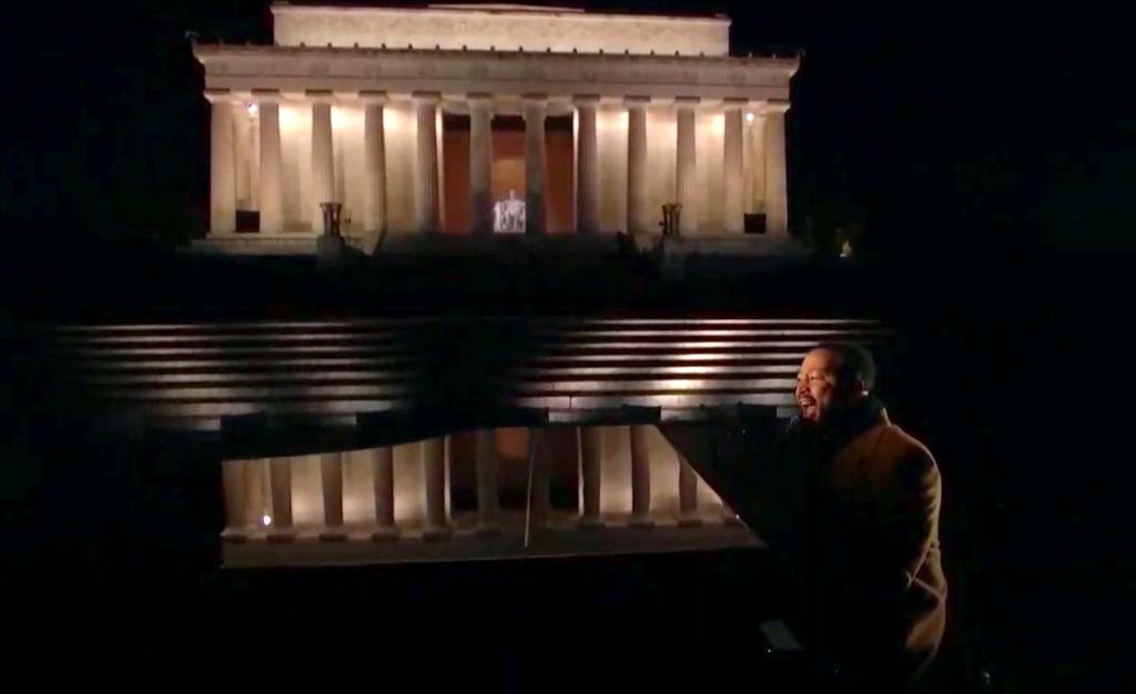 john legend, celebrating america inauguration special