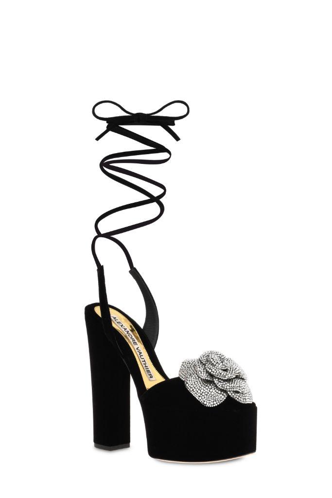 giuseppe zanotti, alexandre vauthier, couture, spring 2021 couture, haute couture, couture shoes, shoes, fashion