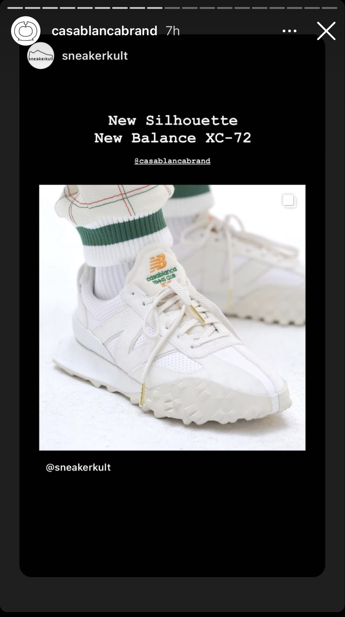 New Balance XC-72: A New Silhouette for Fall 21 With