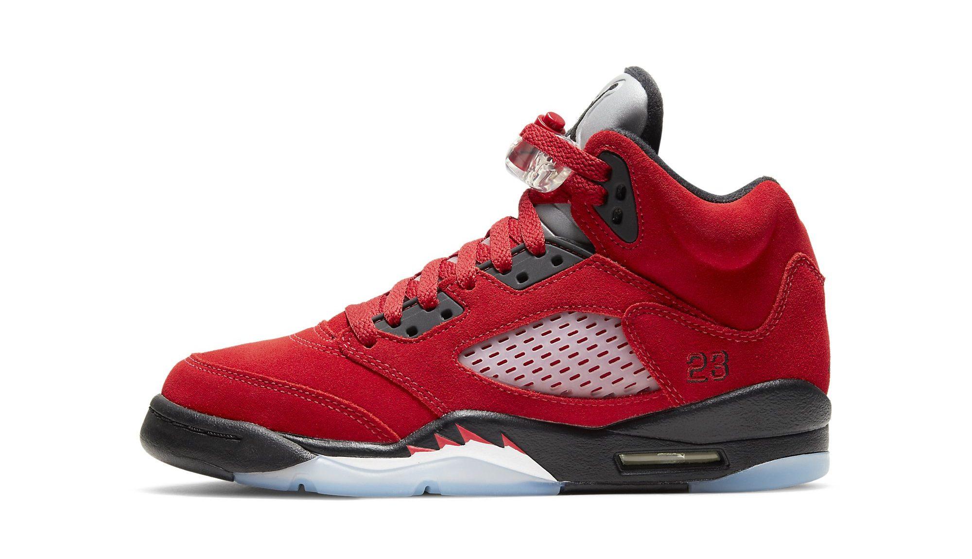 Air Jordan 5 'Raging Bull' 2021: First Look & Release Info ...