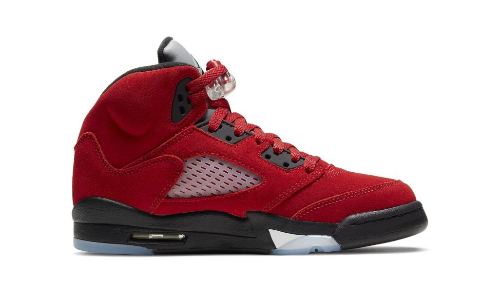 Air Jordan 5 Retro 'Raging Bull' Grade School Sizing
