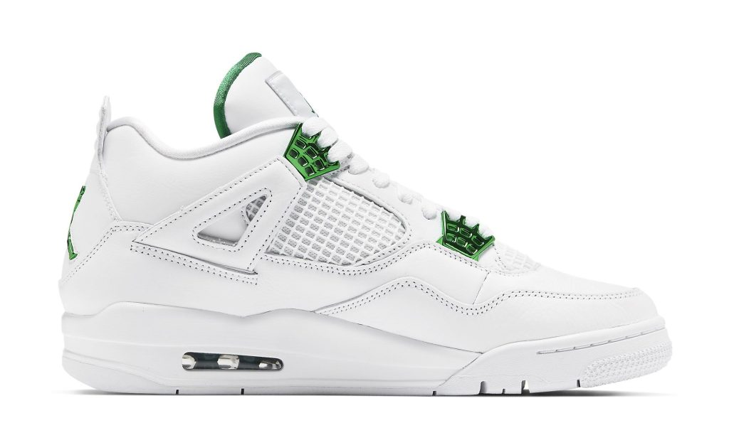 Air Jordan 4 Retro 'Metallic Green'
