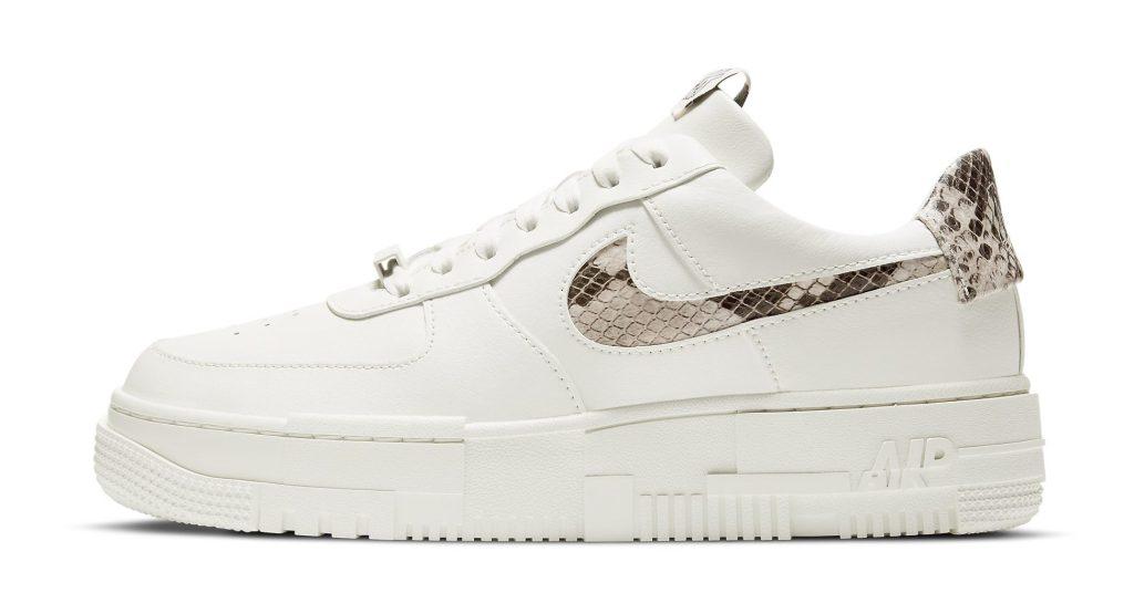 Nike Air Force 1 Pixel 'Sail Snake'