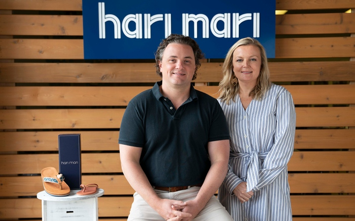 Hari Mari founders, Jeremy and Lila Stewart