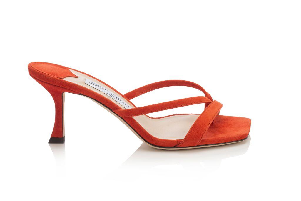 jimmy choo, spring 2021, 2021 trends, thong, thong sandals, thong sandal trend