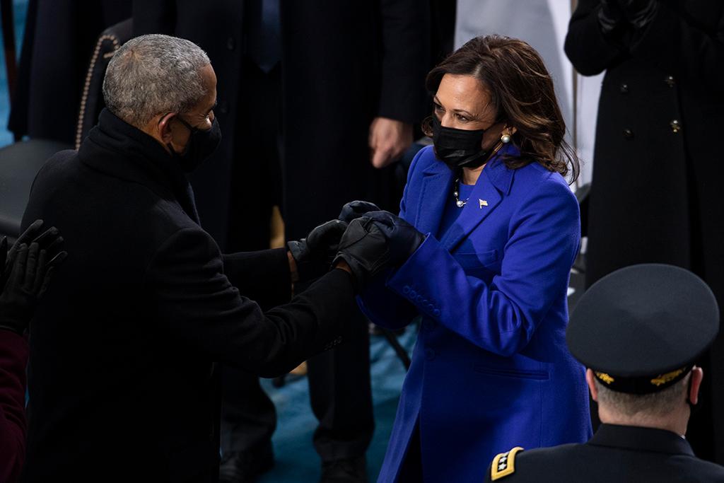 kamala harris, barack obama, inauguration day