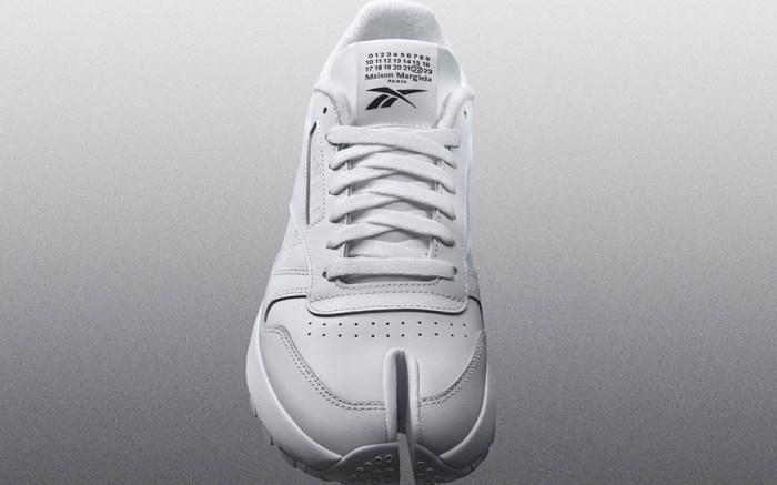 reebok x maison margiela, tabi sneakers, white reebok x mm