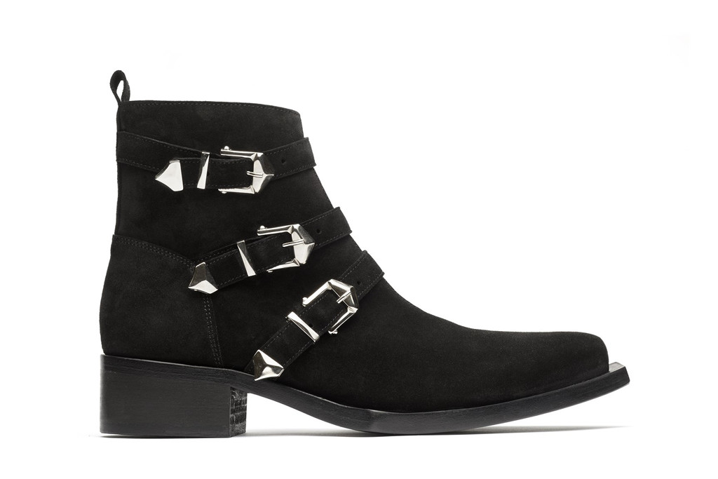 nomenklatura studio shoes, the goth boot, neo goth western boot