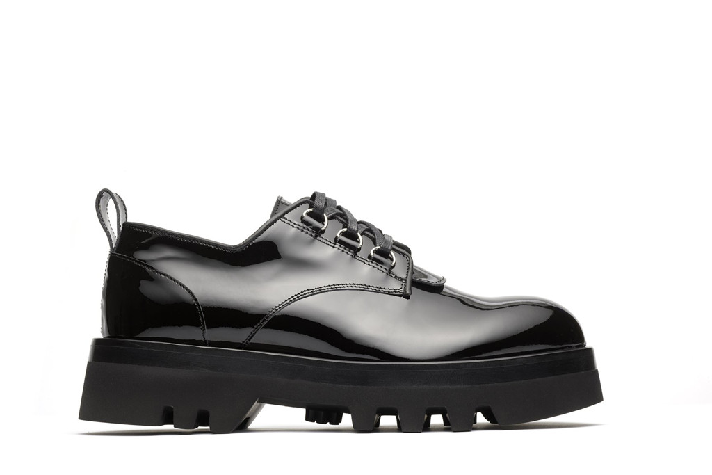 nomenklatura studio shoes, d-ring derby, chunky oxford