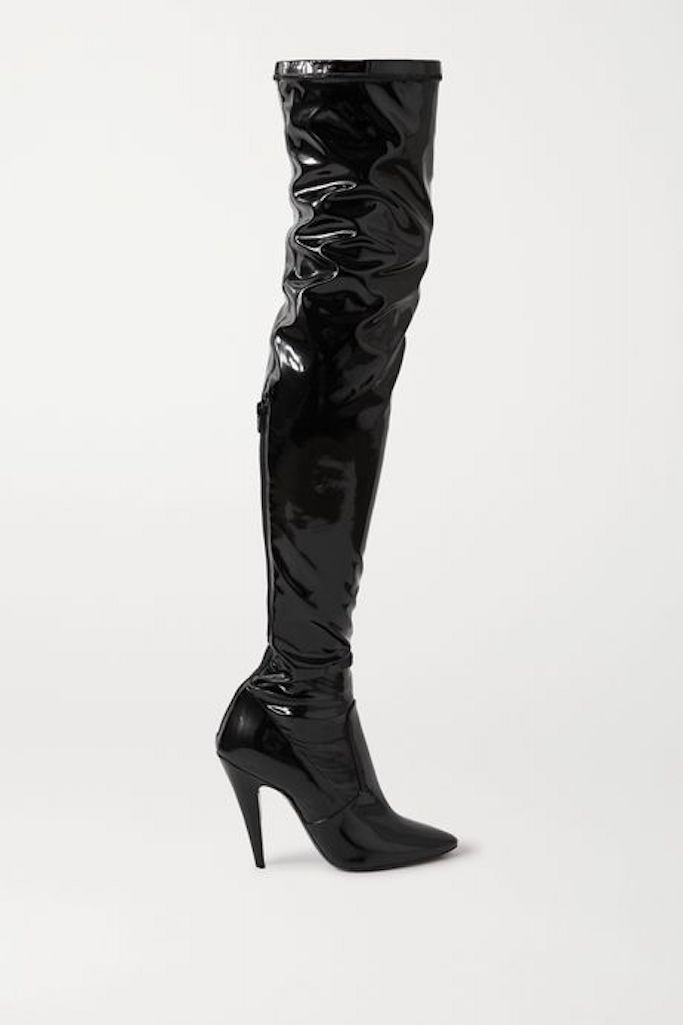 Saint-Laurent-Over-The-Knee-Boots