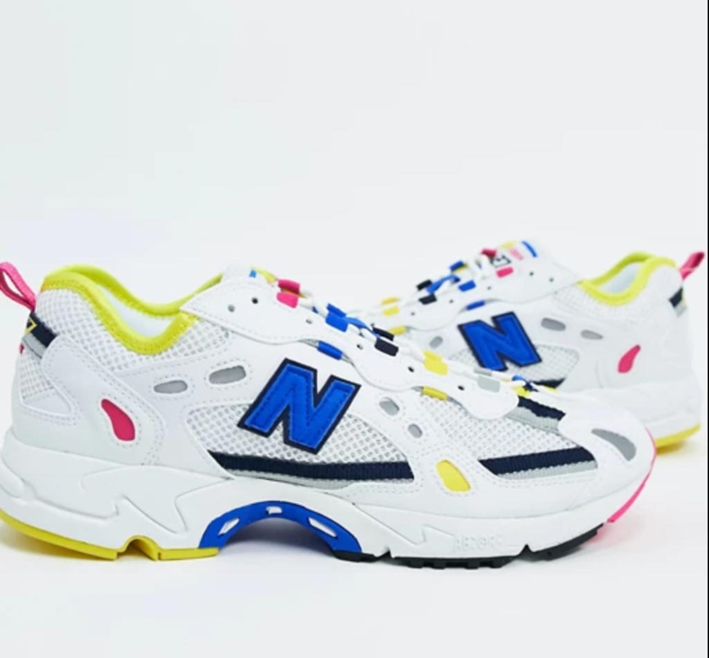 sneakers, colorful, new balance