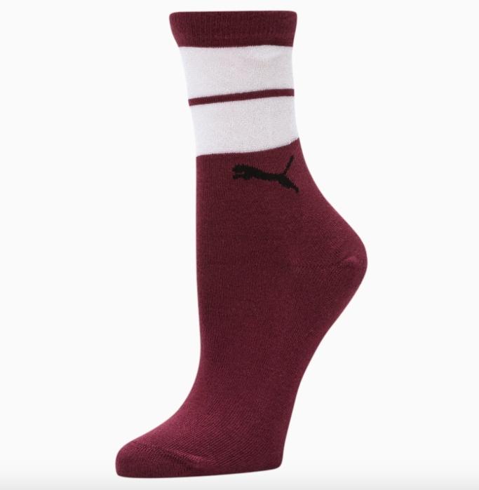 Puma Sheer Stripes Crew Socks