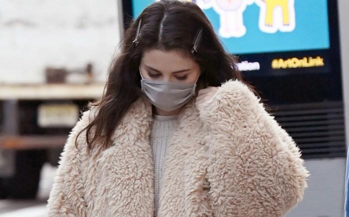 Selena Gomez is seen heading to