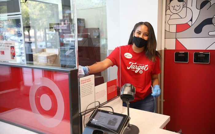 New Target store location on campus at The University of California San Diego on Monday, Oct 19 in San Diego. (Sandy Huffaker/AP Images for Target)