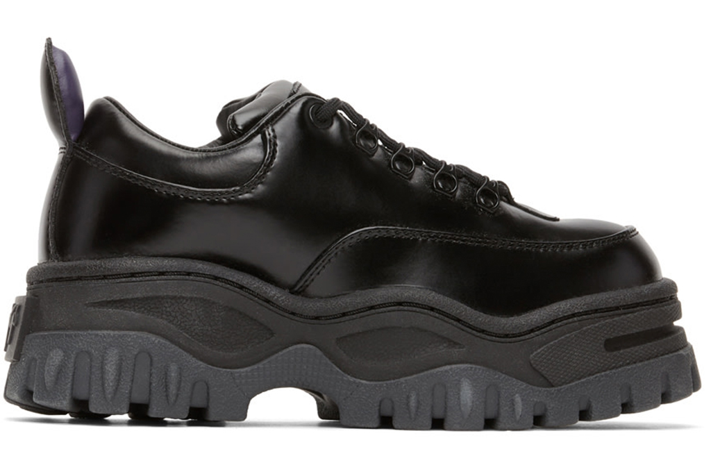eytys, chunky black shoes, chunky sneakers