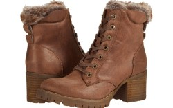 winter heeled boots