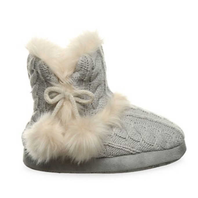 Bearpaw Girl's Faux Fur Booties