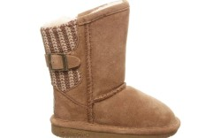 Bearpaw Girl's Boshie Suede & Knit