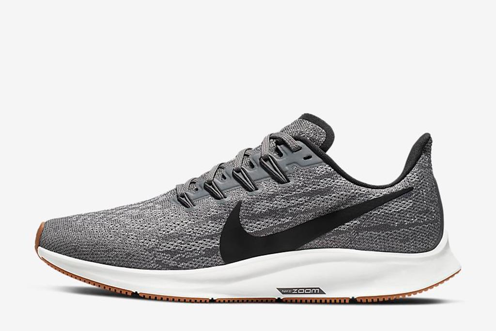 nike zoom pegasus, lucy hale snekaers, gray sneakers