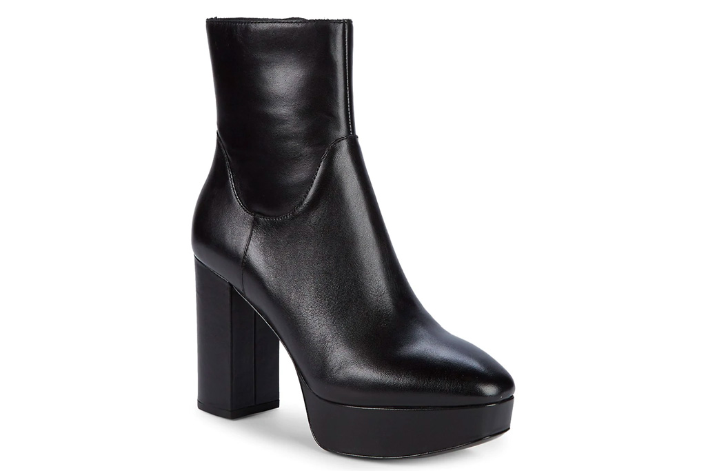 black boots, heels, platform, ash