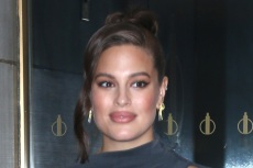 Ashley Graham Serves Up Chic Off-Duty Style In Cozy Knitwear, Cargo Pants & Buzzy Air Jordans