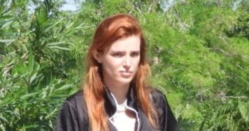 EXCLUSIVE: Bella Thorne is pictured on a luxury yacht with her boyfriend as she continued her vacation in Mexico