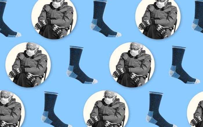 darn tough socks, bernie sanders mittens, bernie sanders meme