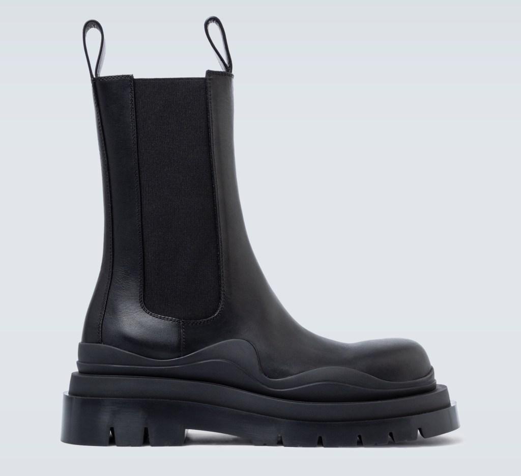 bottega veneta, bv, boots, tire