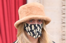 Cara Delevingne Takes on Paris Fashion Week in Every Celeb's Favorite Hat & These Trending Boots