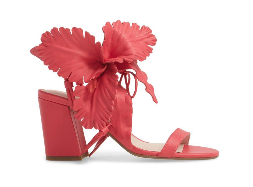 cecilia new york, floral sandals, flower sandals, spring 2021 trends, 2021 trends