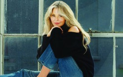 Christie Brinkley Wears Prada Tie-Dye Sneakers