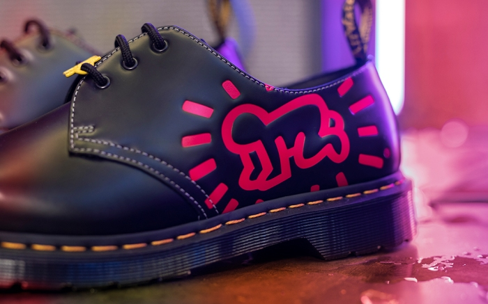 keith haring x dr. martens, keith haring shoes, dr. martens