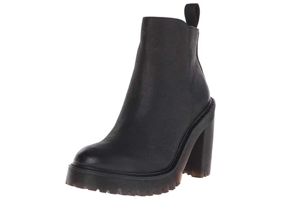 black boots, heels, platform, dr martens