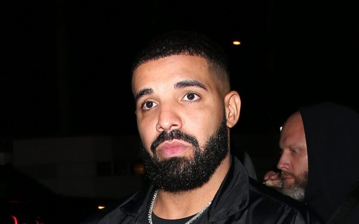 Drake was seen at 'The nice Guy' bar in West Hollywood, CA
