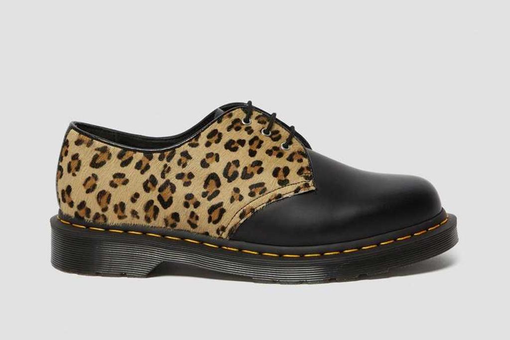 dr martens 1461 oxfords, leopard dr. martens, dr. martens on sale