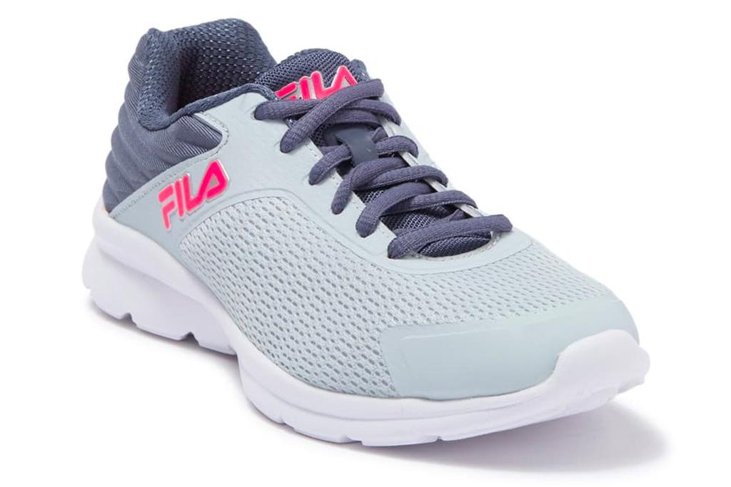running shoes, sale, nordstrom rack, fila