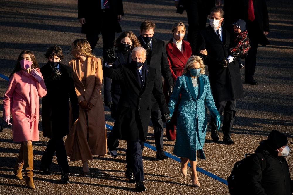 joe biden, family, grandkids, finnegan biden, inauguration day