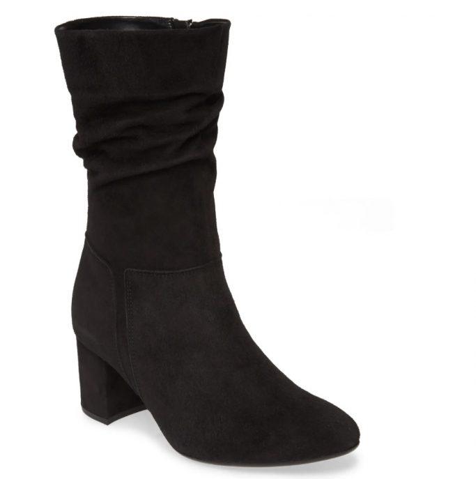 Gabor Block Heel